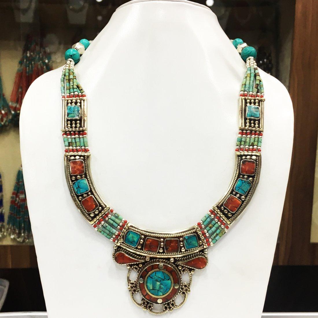 Tibetan Handmade Nepali Ethnic Necklace