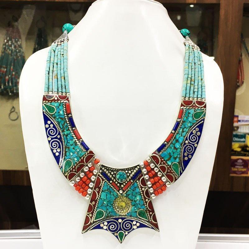 Nepalese Tribal & Ethnic Handmade Bold Necklace