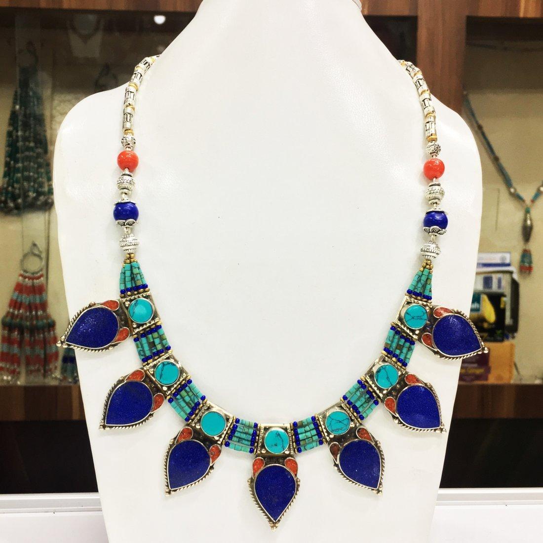 Nepalese Handmade Turquoise Necklace