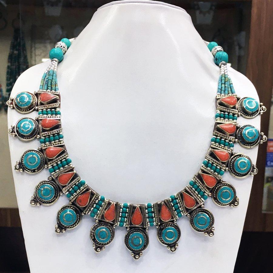 Ethnic Antique Choker Handmade Necklace