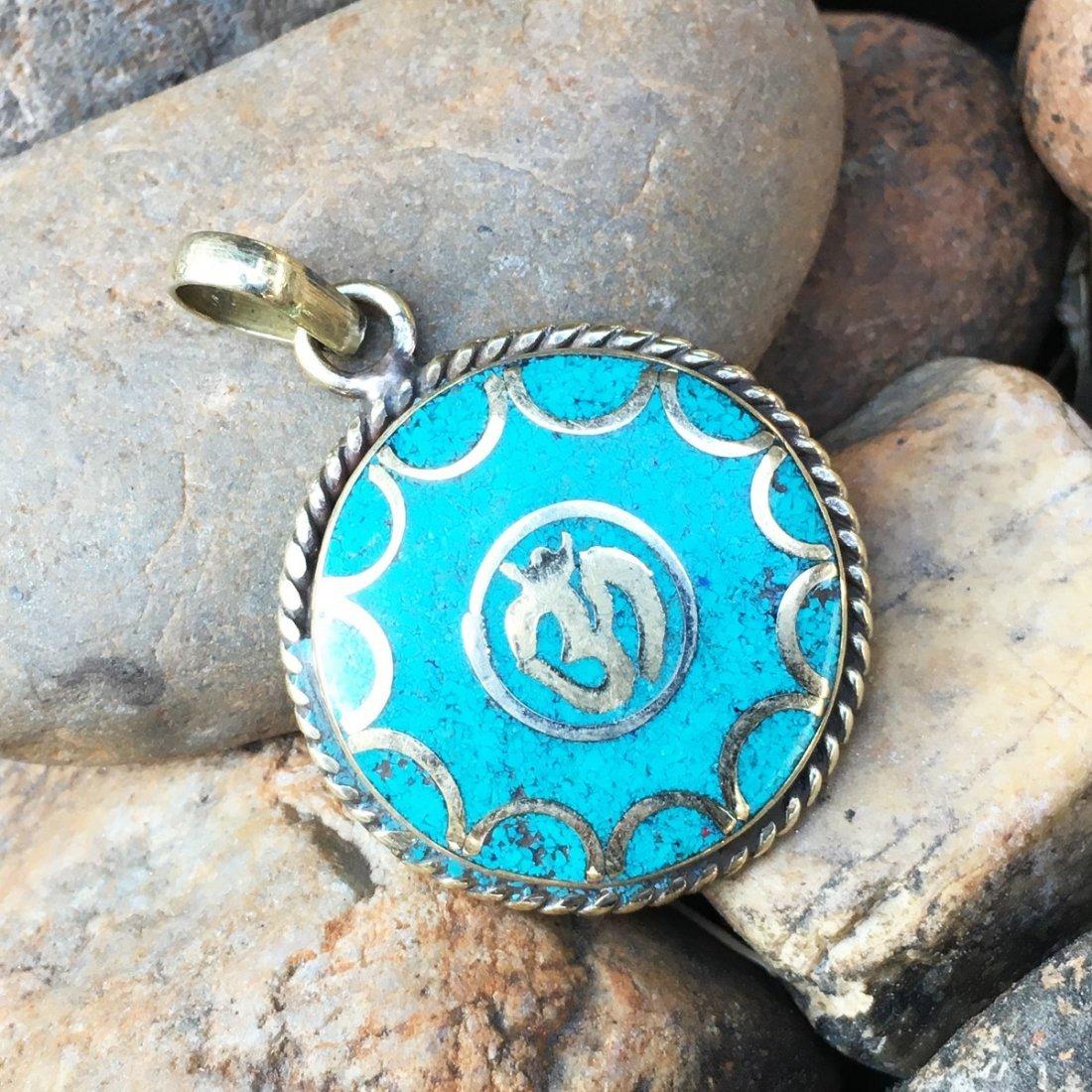 Tibetan Silver Women's Vintage Pendant