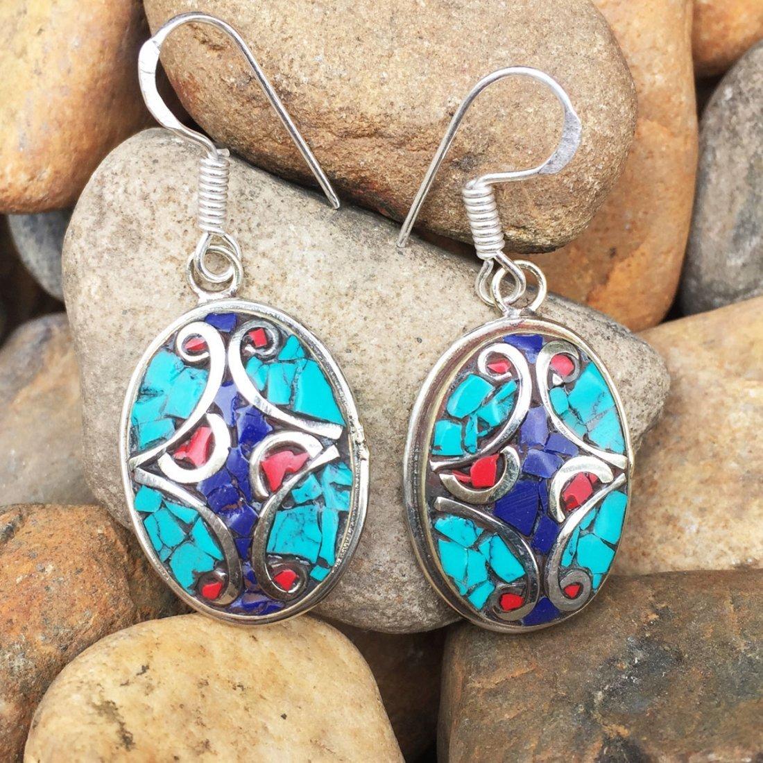 Handmade Annapurna Tibetan Style Earring