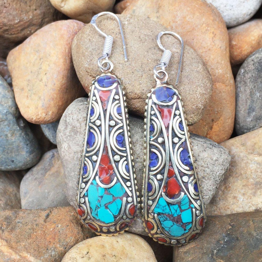 Tibetan Handmade Nepali Ethnic Earring