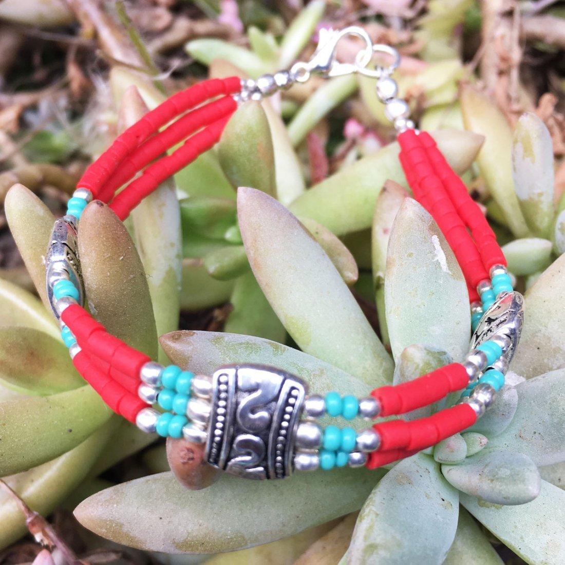 One-of-a-kind Beautiful Tribal Bracelet