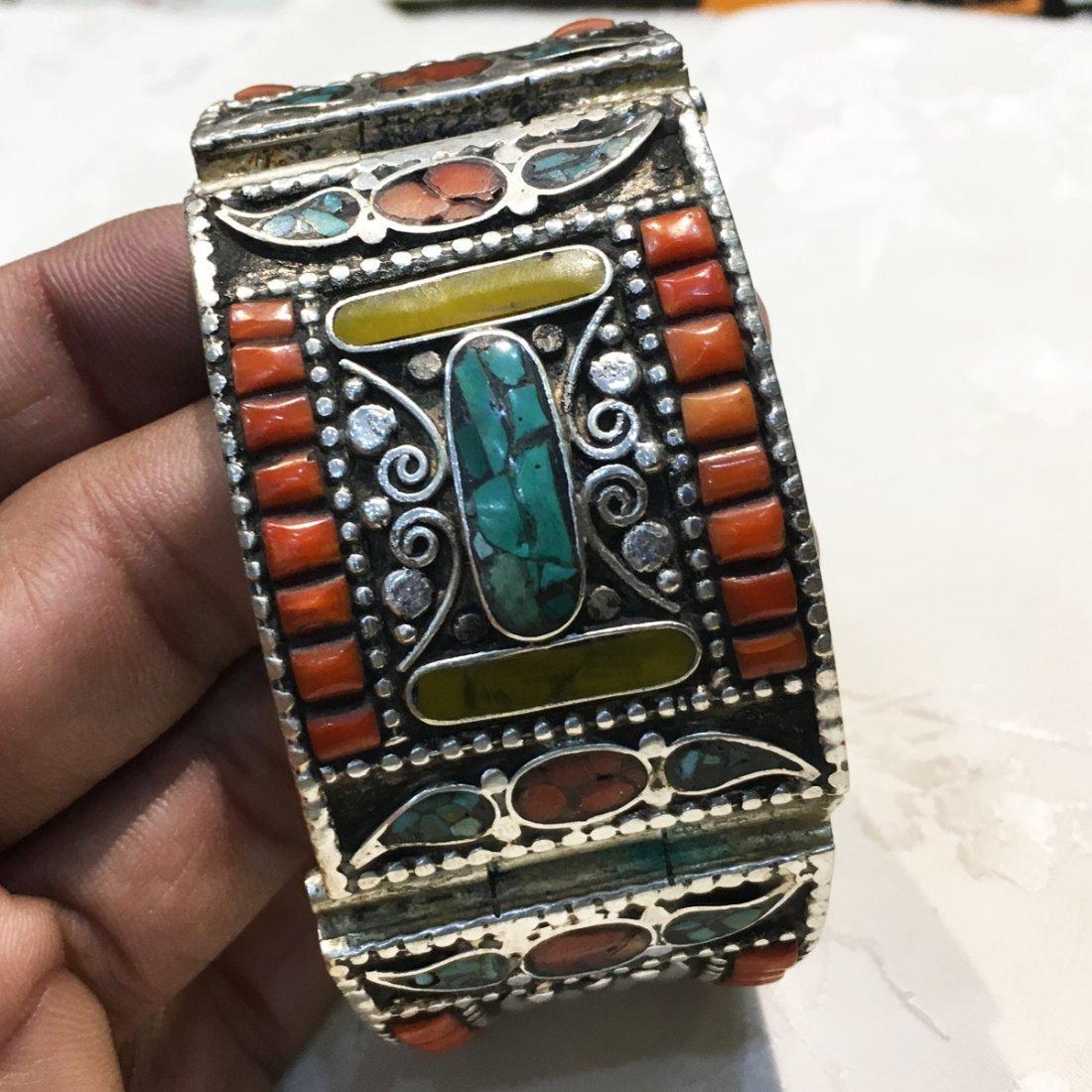 Tribal Traditional Vintage Banjara Handmade Bangle - 4