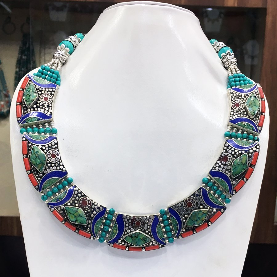 Statement Dangle Gypsy Necklace