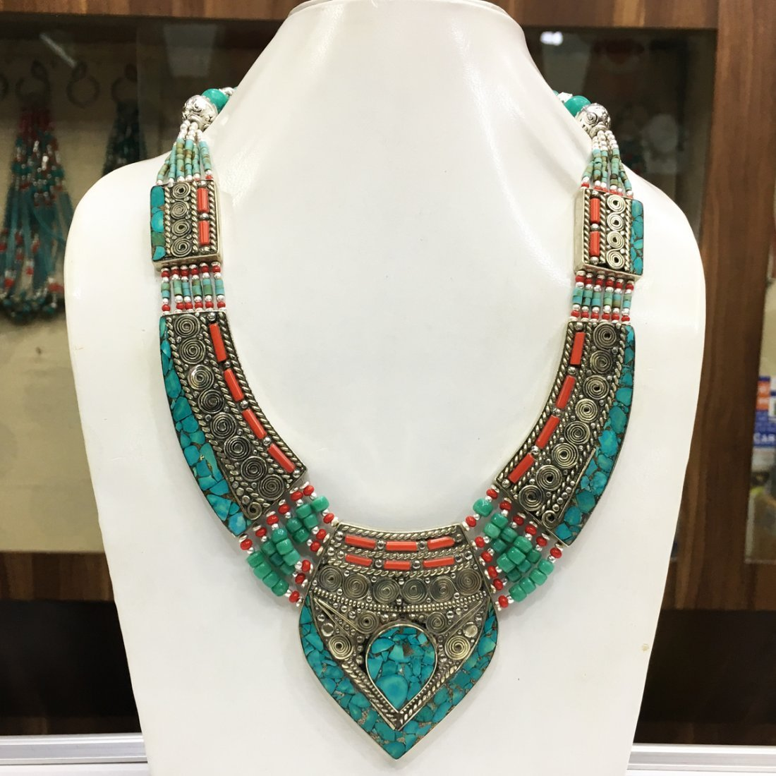 Genuine Tibetan Handmade Nepali Ethnic Necklace