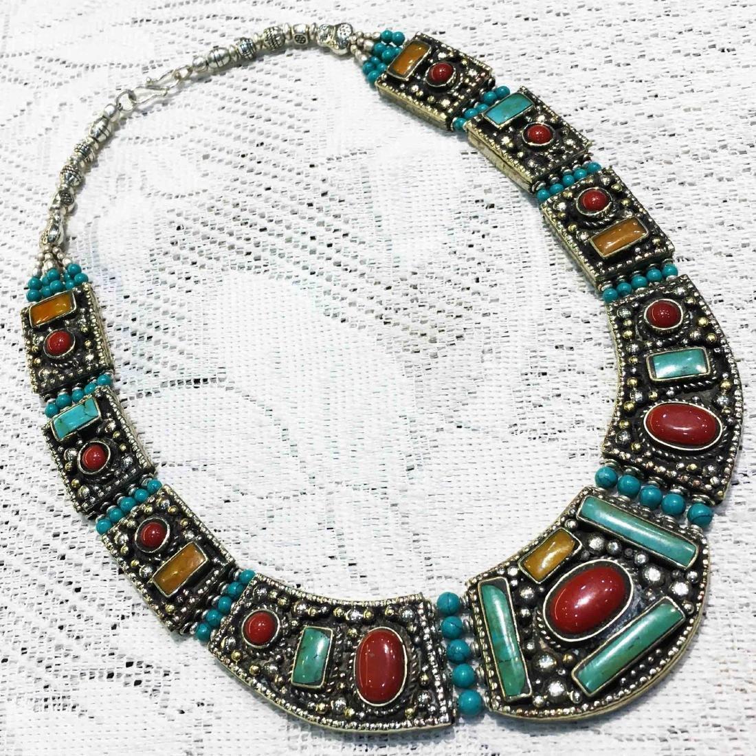 Buddhist Vintage Tibetan Nepali Necklace
