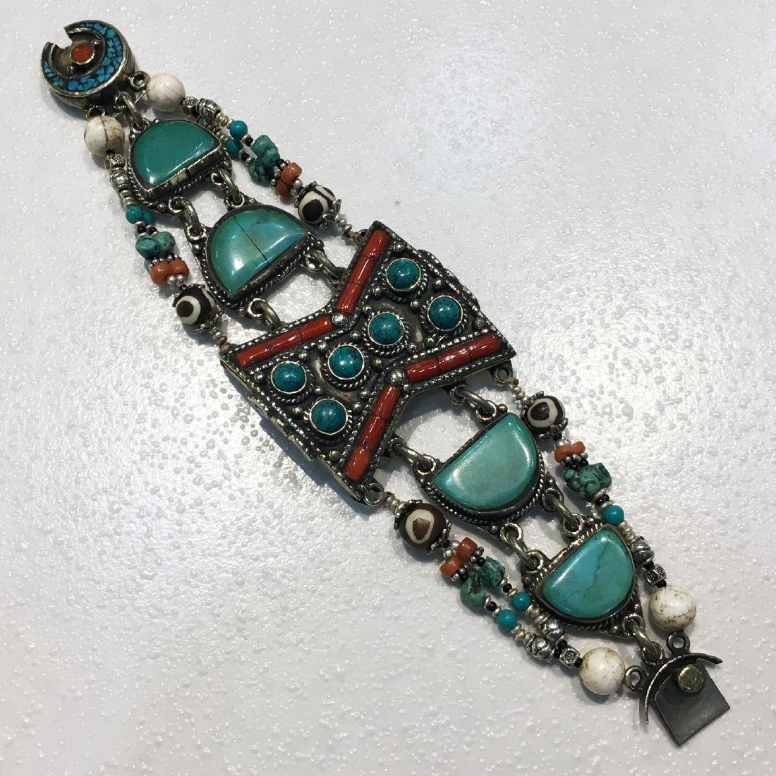 Gypsy Ethnic Antique Choker Handmade Bracelet