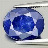 3.40 Ct. Oval Natural Blue Sapphire From Madagascar