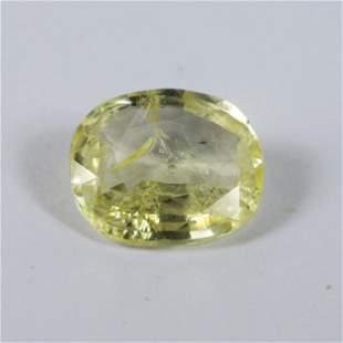 Natural Srilanka Yellow Sapphire 4.18 Carat -