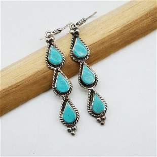 New Arrival - Turquoise Handmade Earrings