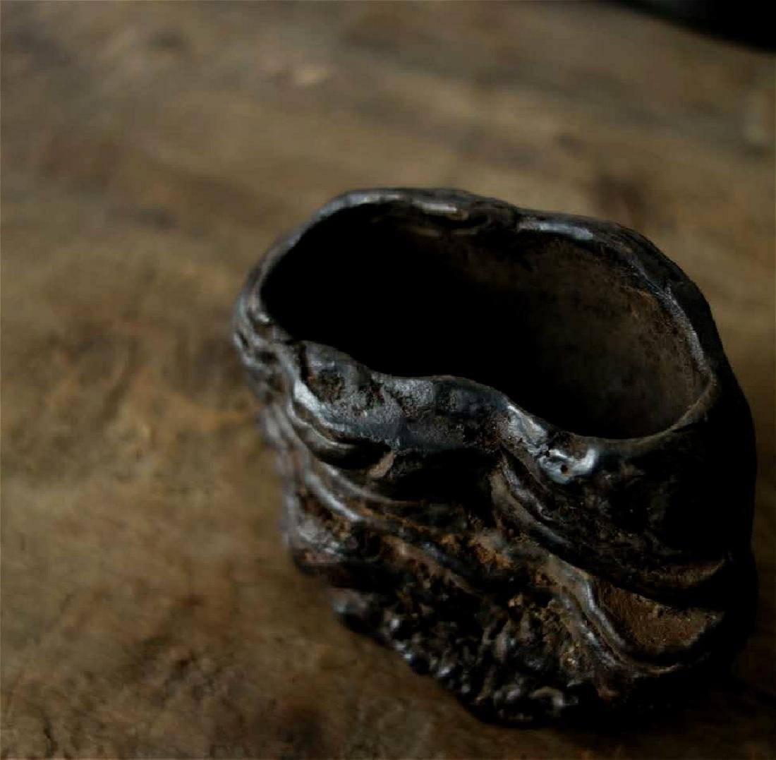 chinese natural lingzhi scholar water pot - 3