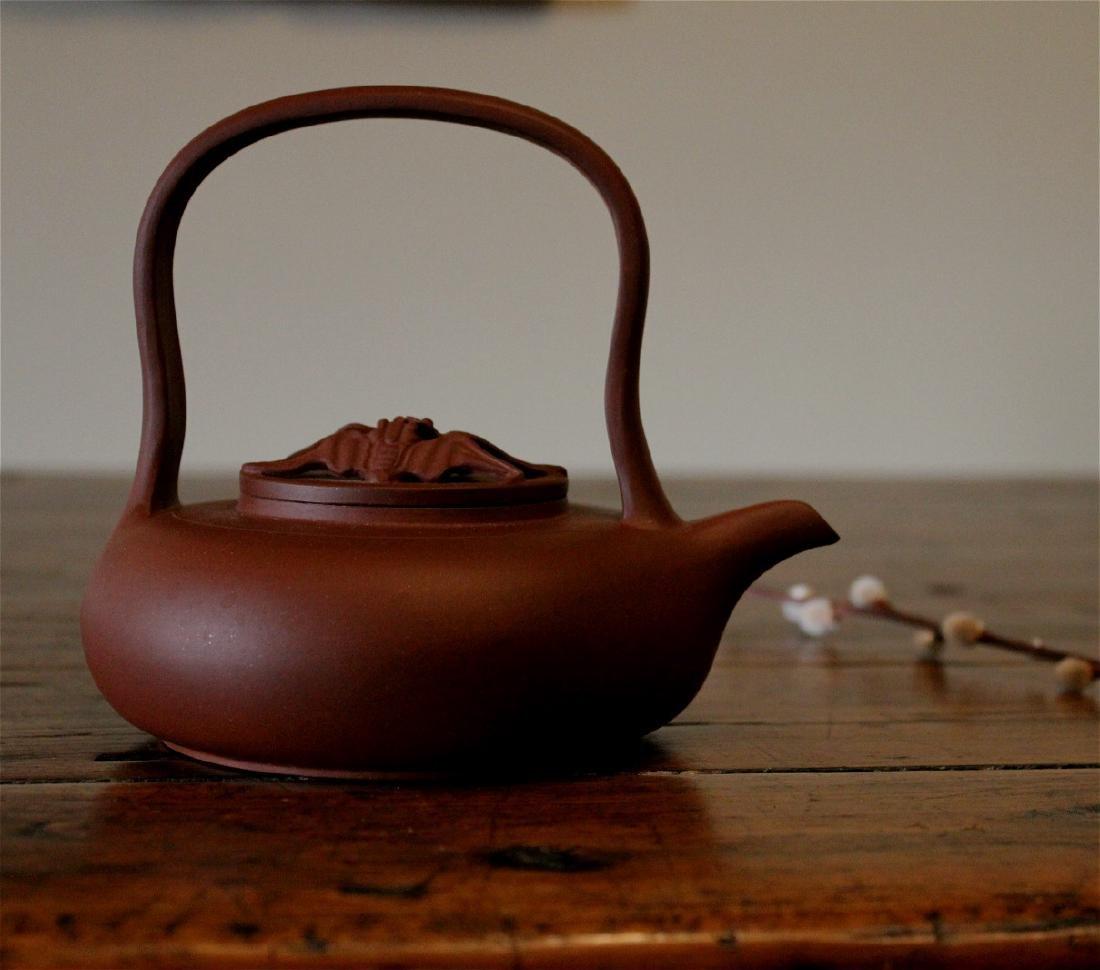 chinese yixing zisha clay tea pot