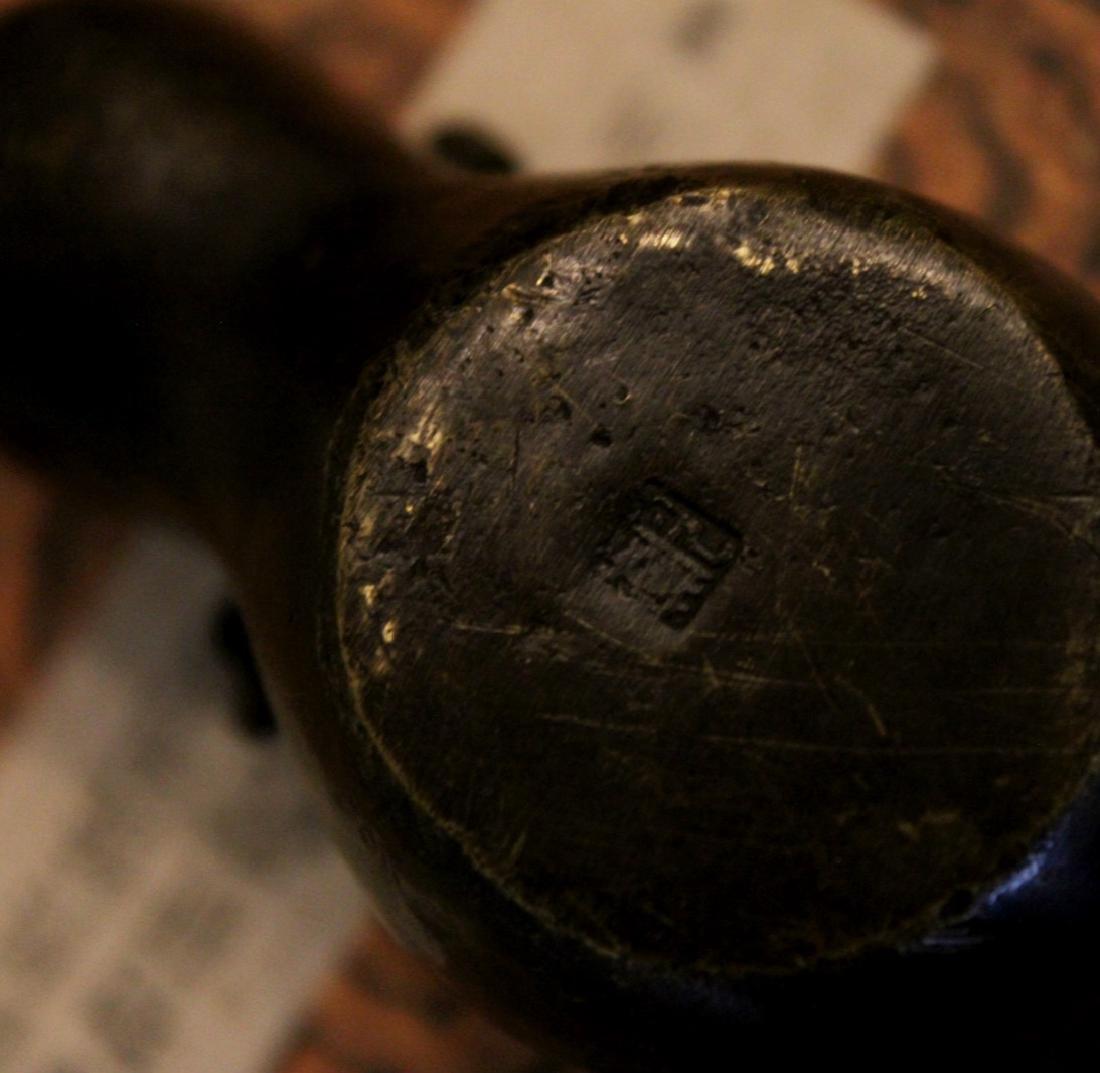 chinese bronze scholar water dropper - 5