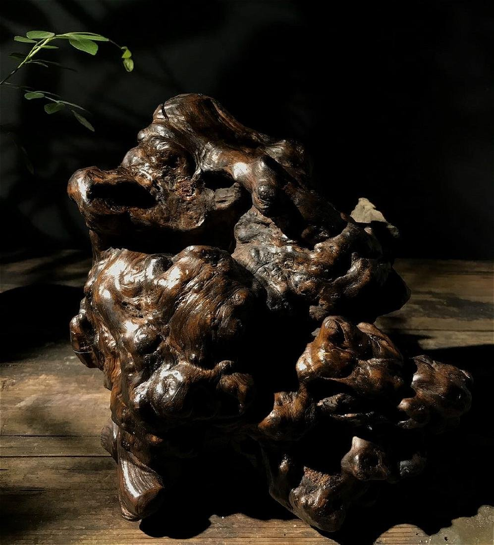 rare chinese nanmu schlar root stand - 6