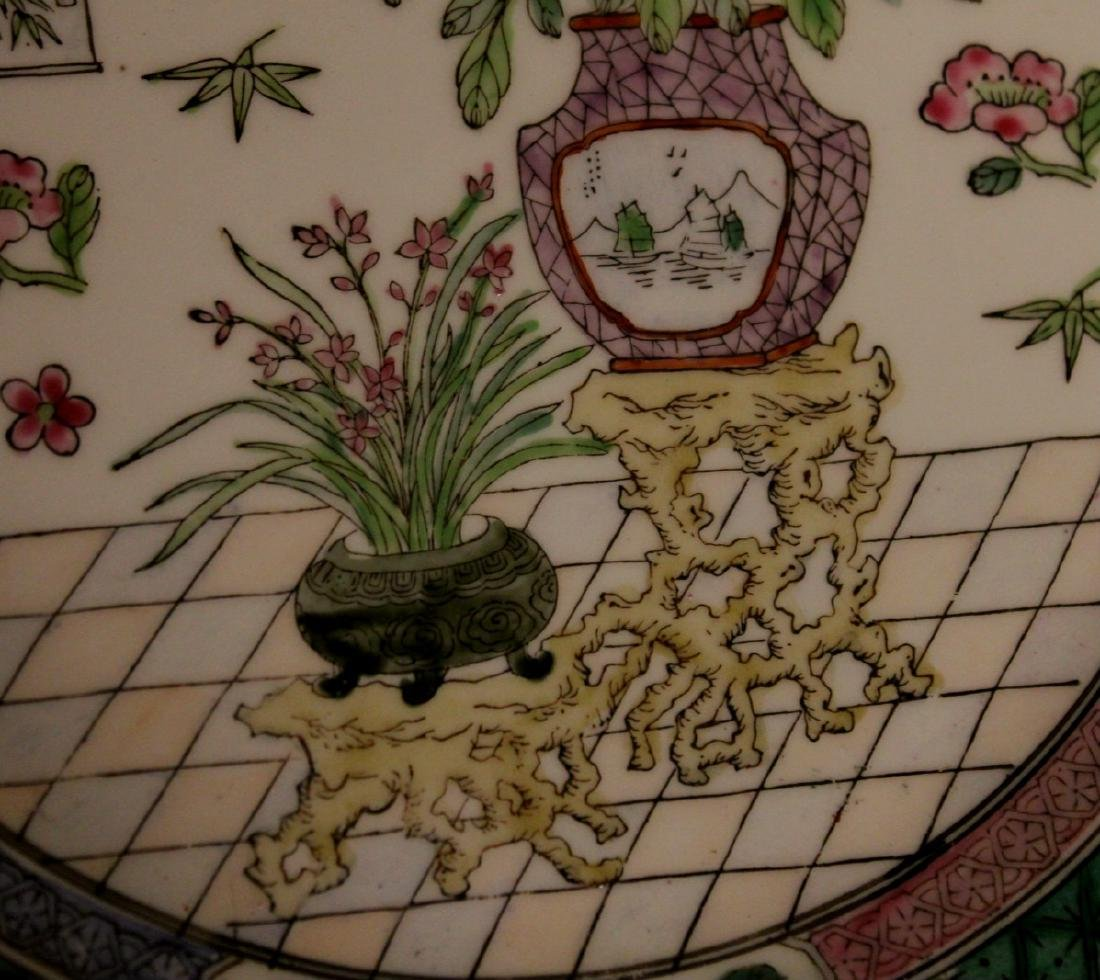 chinese pair of porcelain dishes - 2