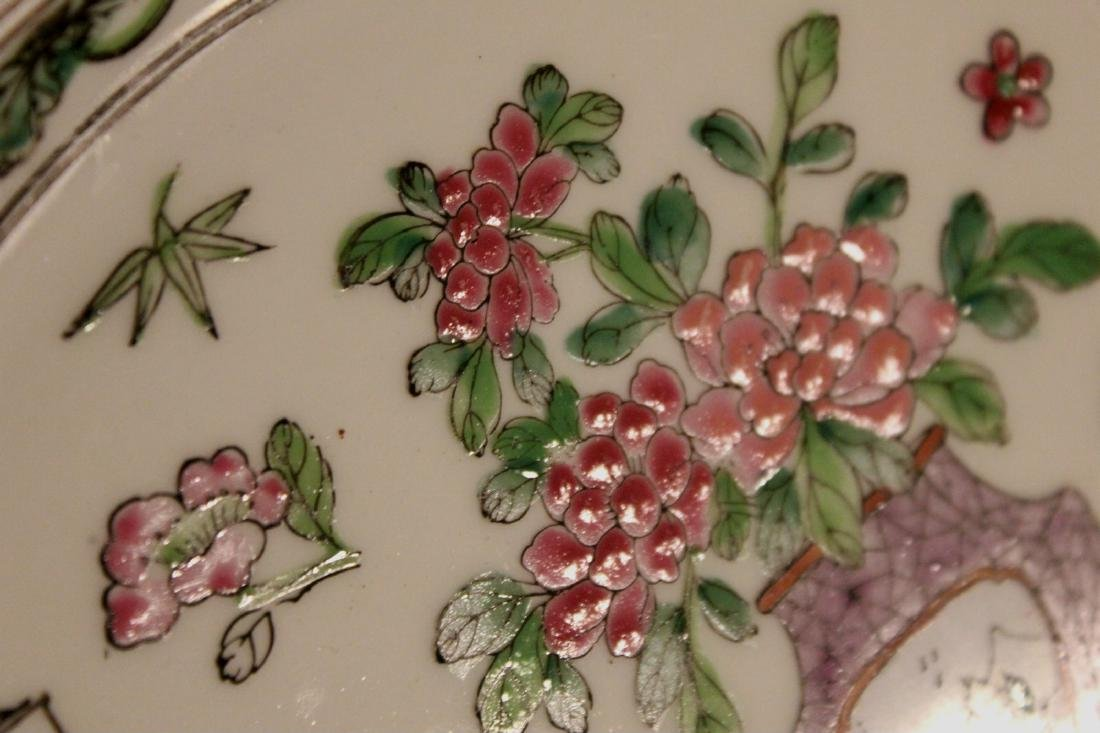 chinese pair of porcelain dishes - 3