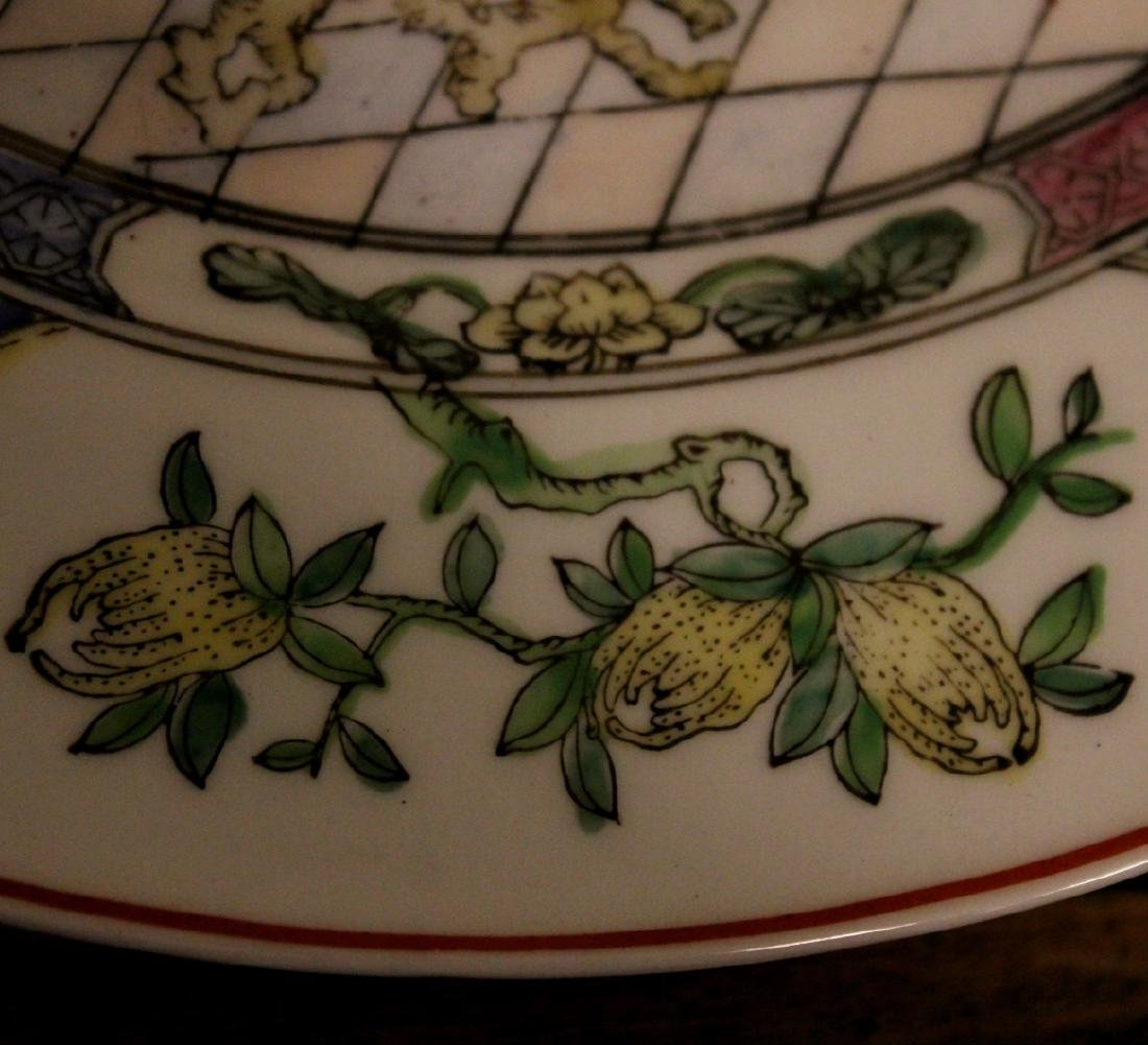 chinese pair of porcelain dishes - 4