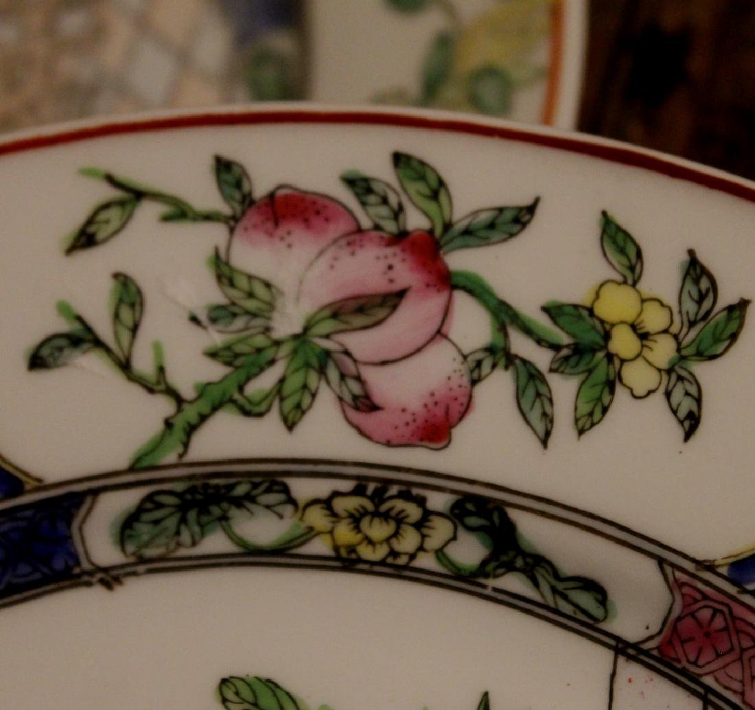 chinese pair of porcelain dishes - 6