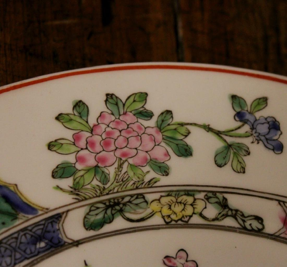 chinese pair of porcelain dishes - 7