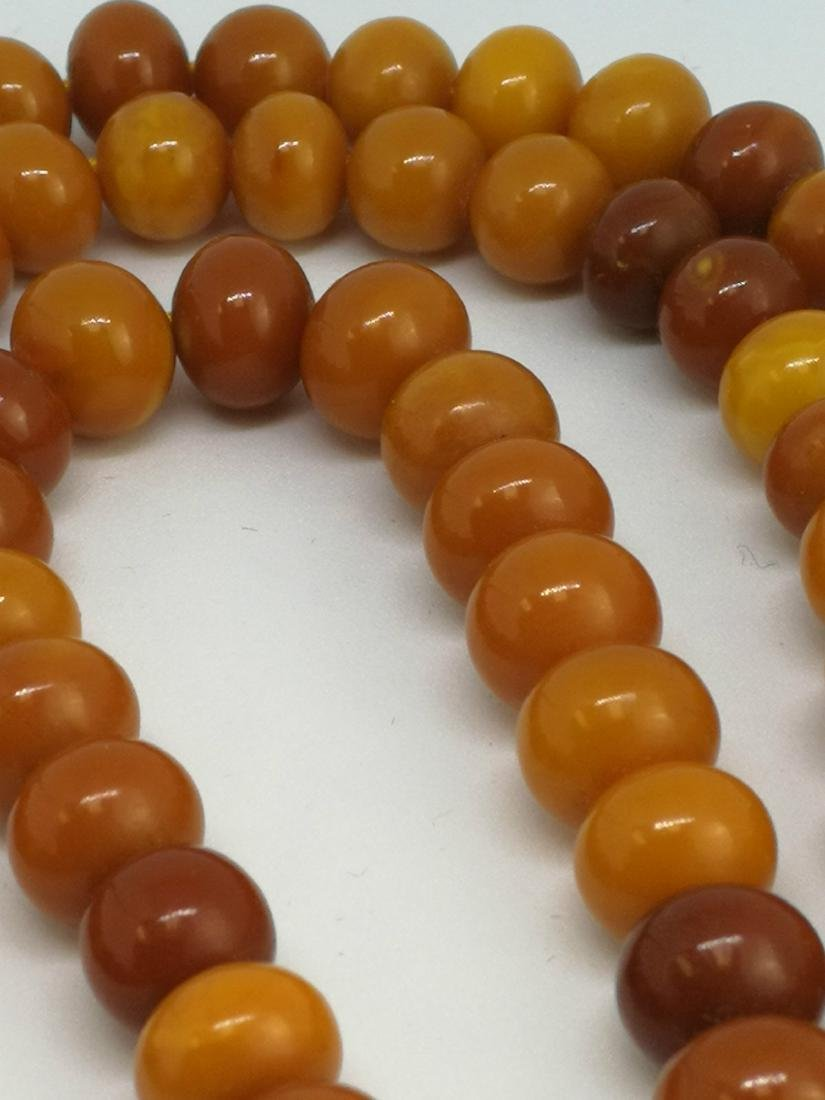amber beaded necklace - 5