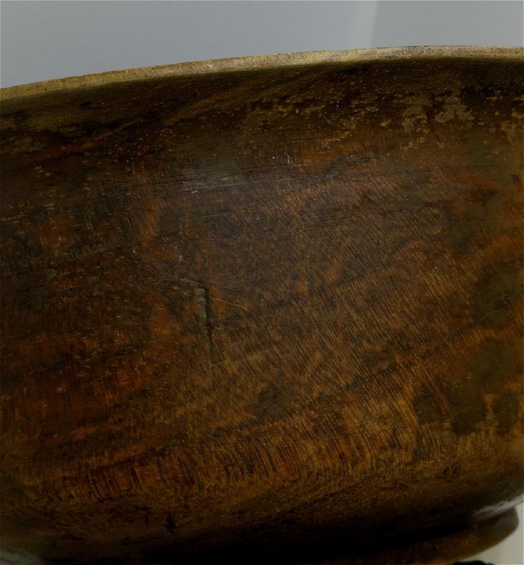 wood carved bowl - 4