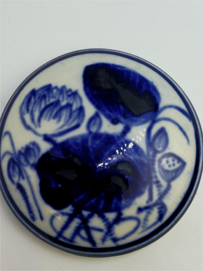chinese porcelain ink box