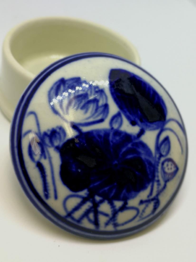 chinese porcelain ink box - 3