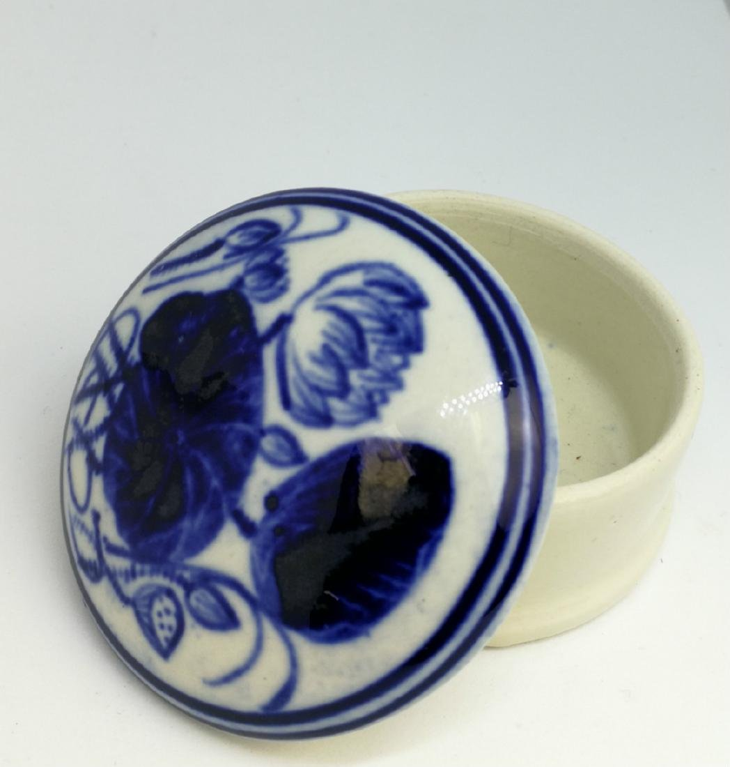 chinese porcelain ink box - 4