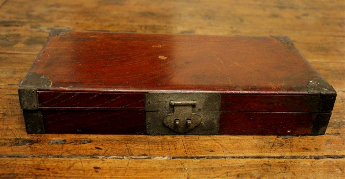chinese jumu wood box