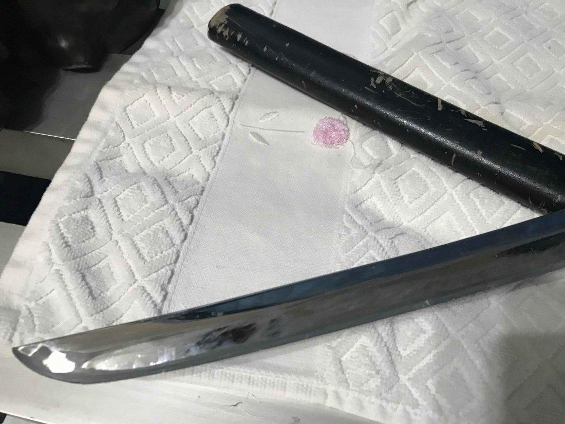 Japanese Ancient Steel Samurai sword - 5