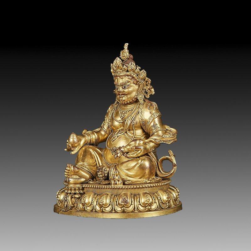 Chinese Ming Dynasty Gilt Bronze Buddha Figure - 2