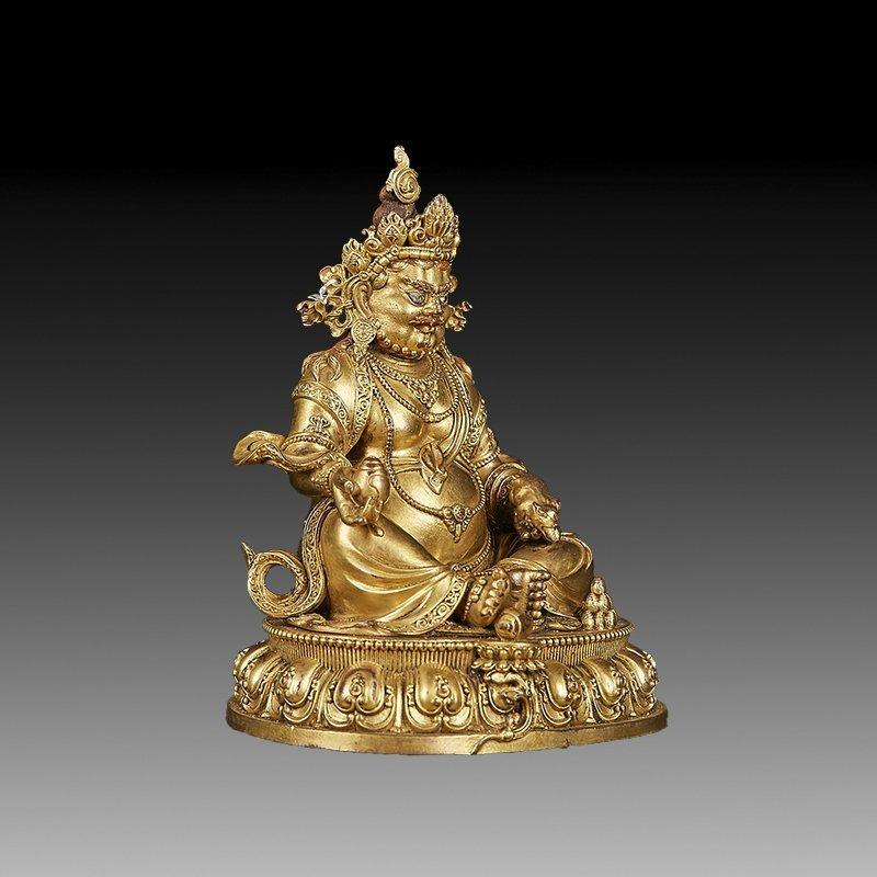 Chinese Ming Dynasty Gilt Bronze Buddha Figure - 3