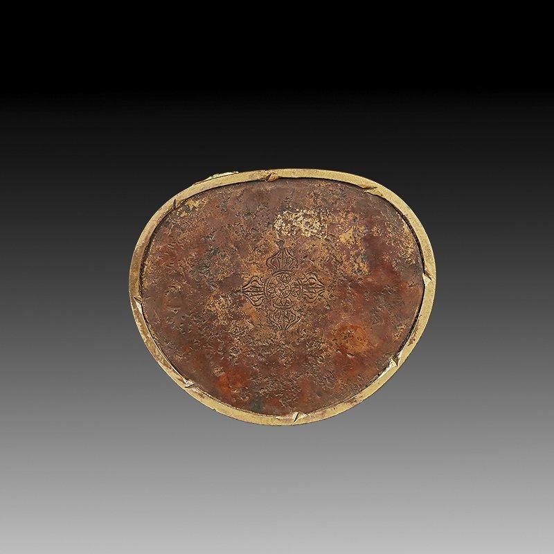 Chinese Ming Dynasty Gilt Bronze Buddha Figure - 5