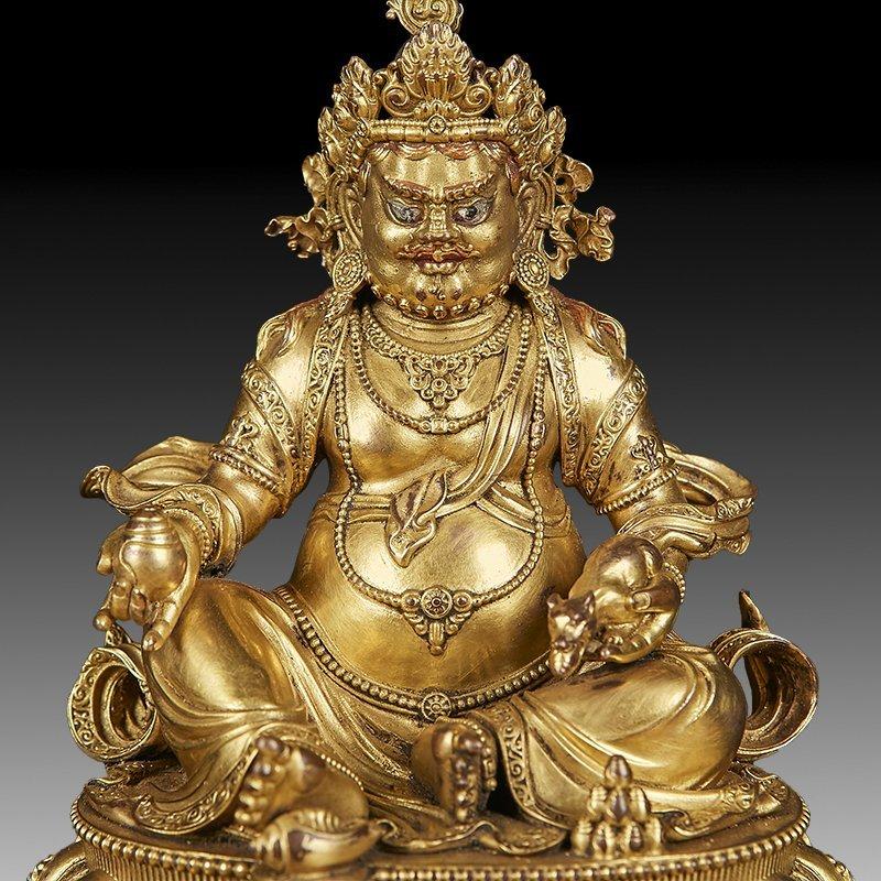 Chinese Ming Dynasty Gilt Bronze Buddha Figure - 6