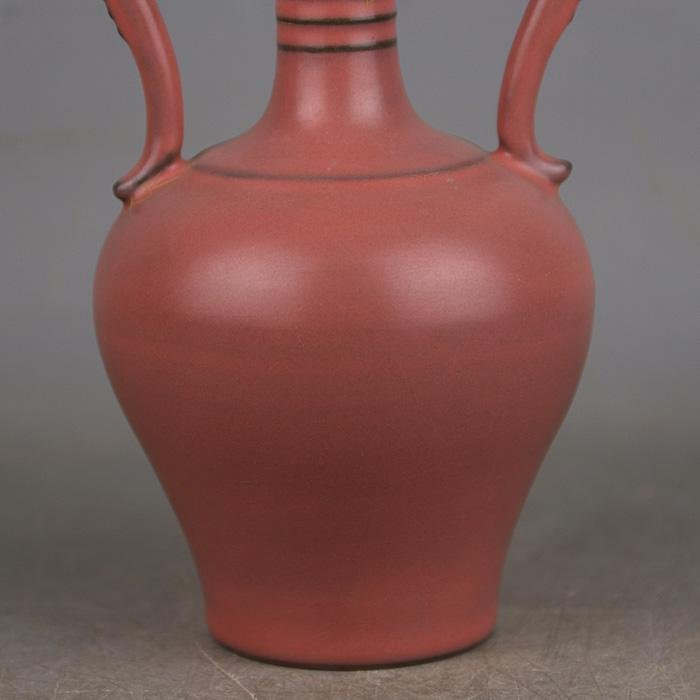 Chinese Ru kiln Porcelain Dragon Vase - 3