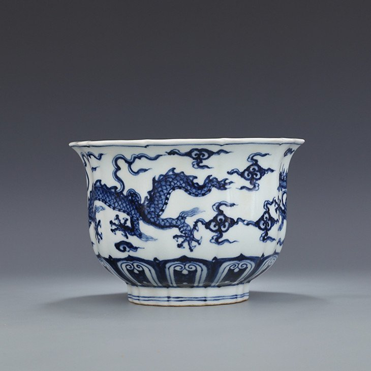 Chinese Blue And White Porcelain Bowl - 7