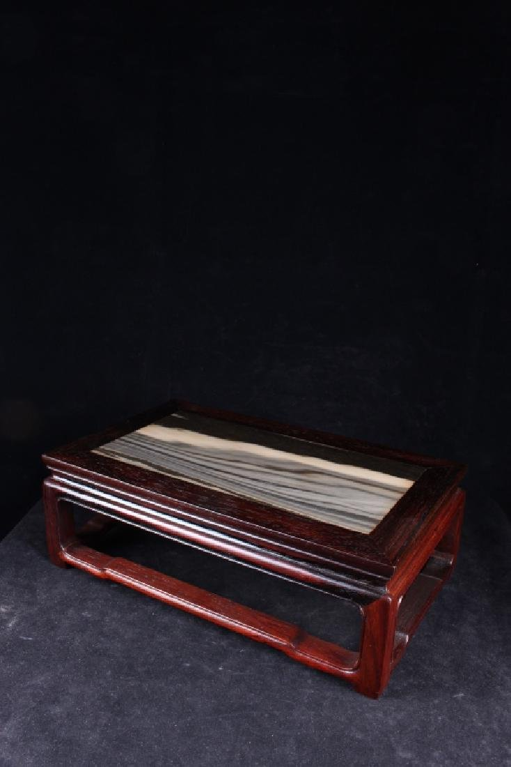 SIAM ROSEWOOD WITH MARBLE BOTTOM