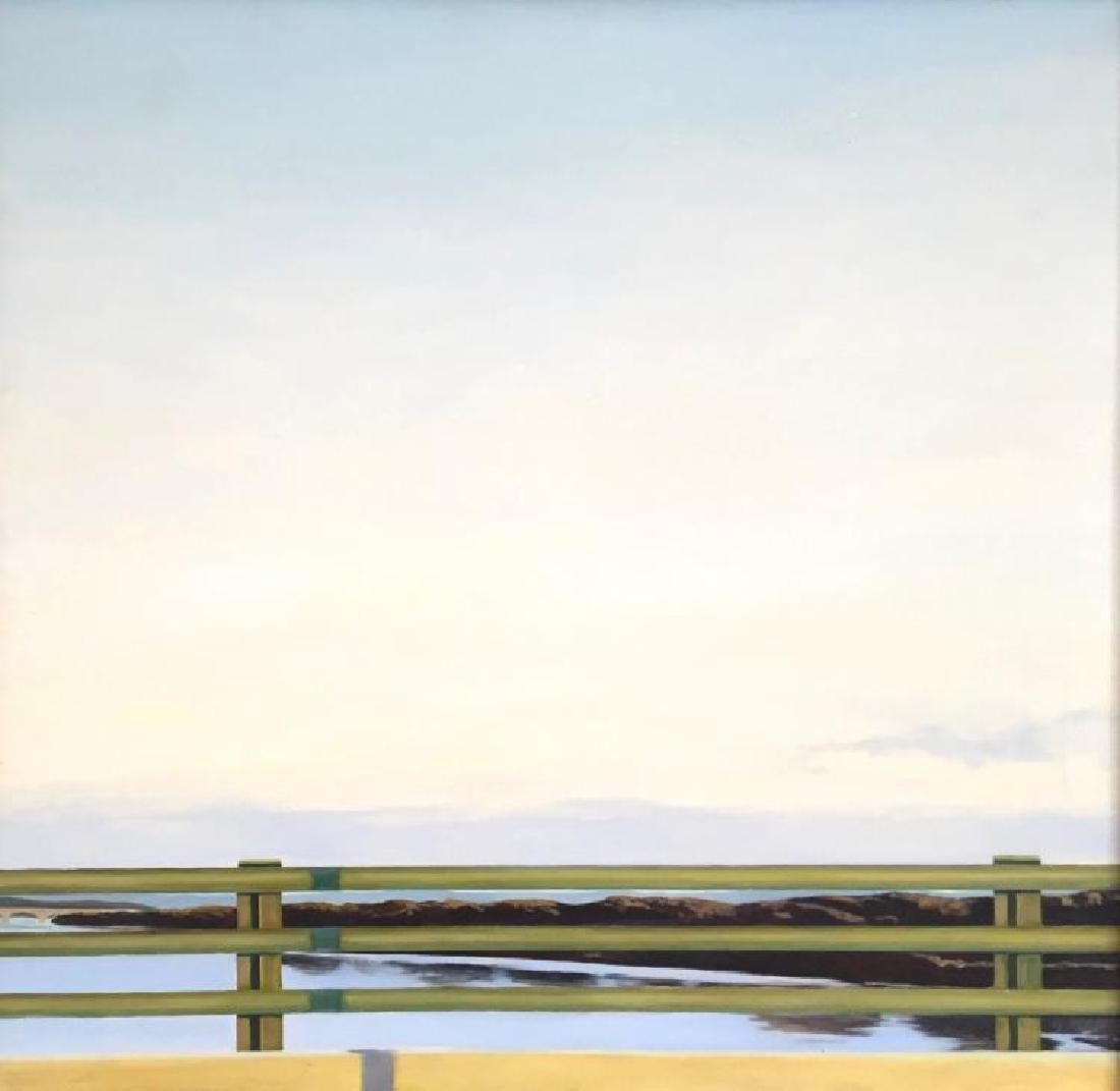 JOHN DOWD (1960- ), The Guard Rail, Oil on linen