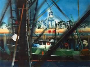 DONALD STOLTENBERG 19272016 Provincetown Harbor