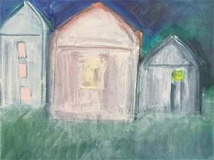 JUDITH DRAGONETTE 1938 Untitled Houses 2003
