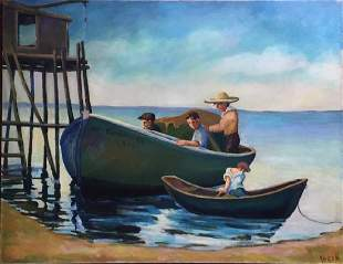 KOREN DER HAROOTIAN 19091992 Portuguese Fishermen