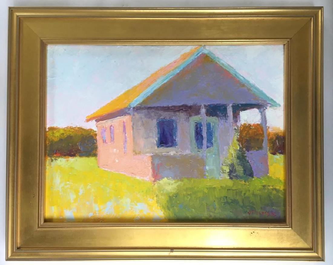 JUDITH FULMER (1962 - ), Cape Cottage, Oil on masonite - 4