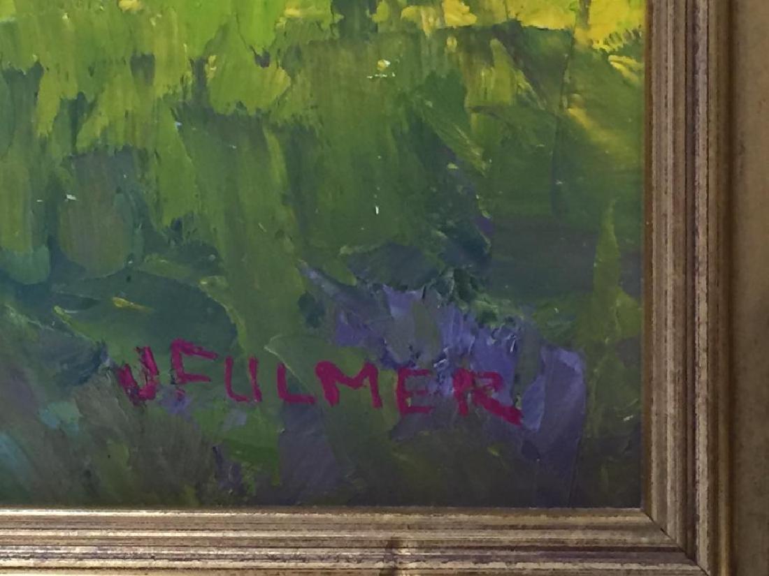JUDITH FULMER (1962 - ), Cape Cottage, Oil on masonite - 6