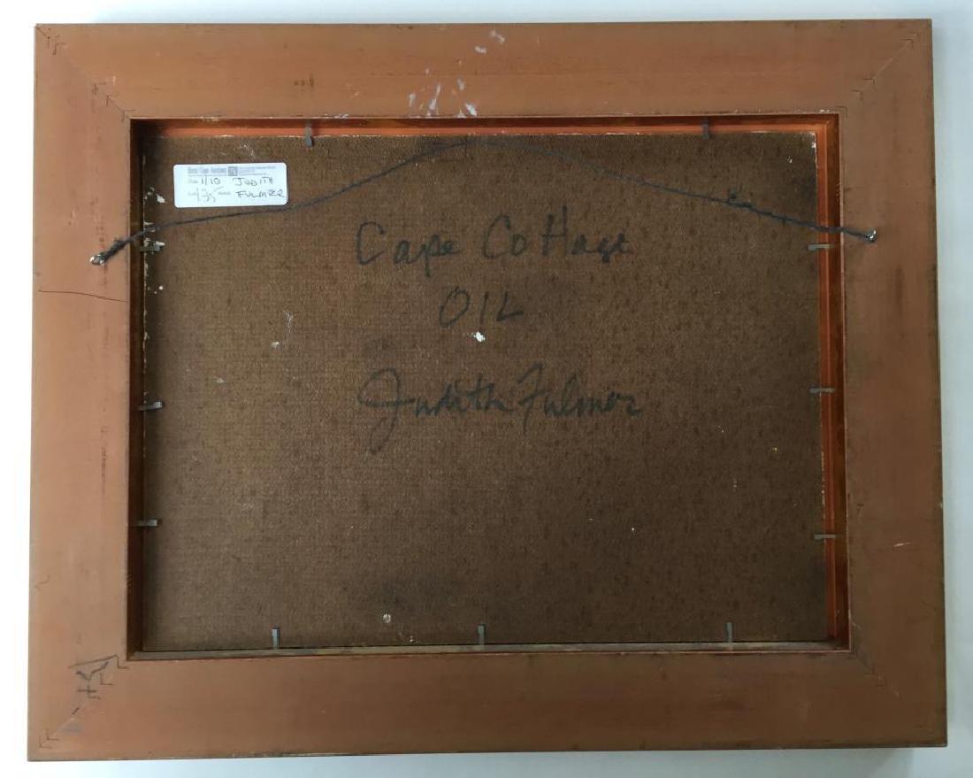 JUDITH FULMER (1962 - ), Cape Cottage, Oil on masonite - 8