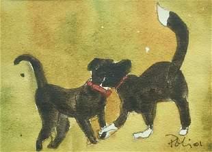 NICOLETTA POLI 19582014 Dancing Dogs 2001