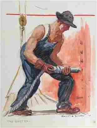 GERRIT BENEKER 18821934 The Riveter 1918