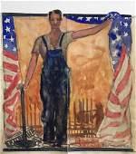 GERRIT BENEKER (1882-1934), Lot of 2 Ambition Cover