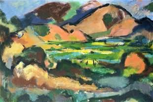 VICTOR DE CARLO 19161973 Elba 1952 Oil on canvas